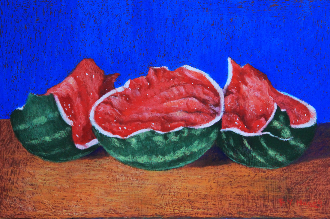 Crushed Watermelon (pastel)