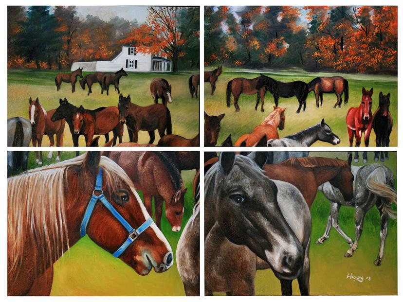 Horse Ranch (oil)