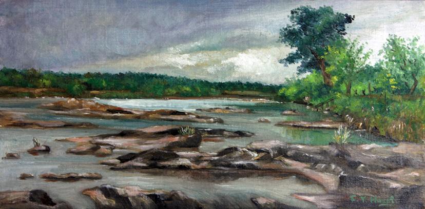 Llano River (oil)