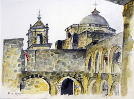 Mission St. Jose 02 (water color)