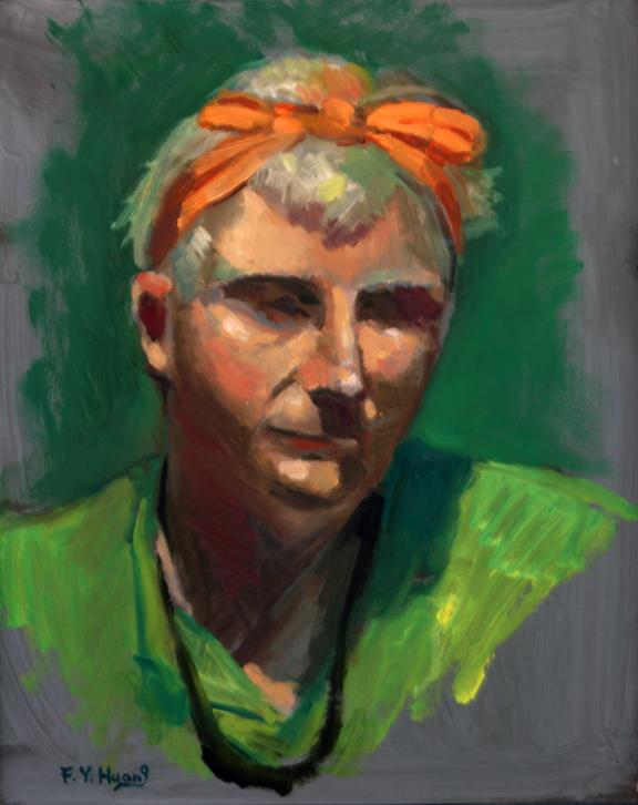 Portrait Sketch (oil)