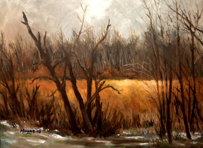 Snow Field 05 (oil)
