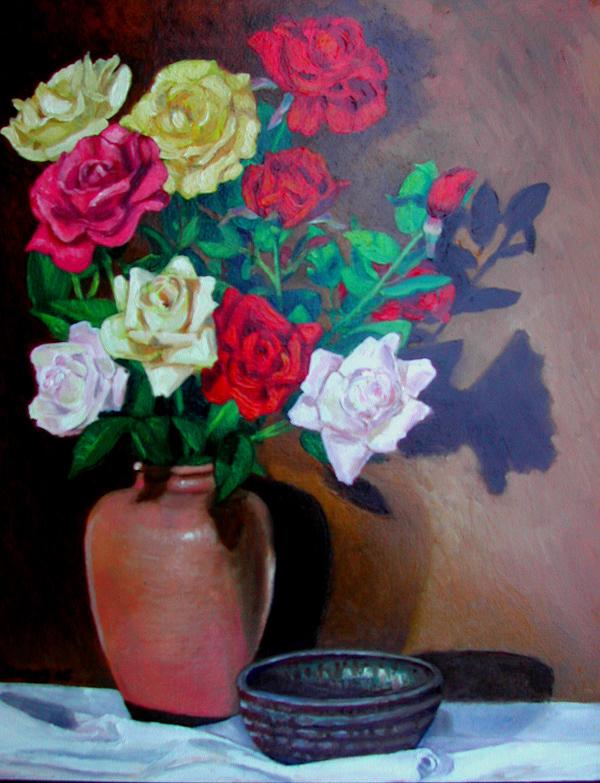 Roses 03 (oil)