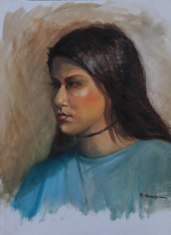 Anna 01 (oil)