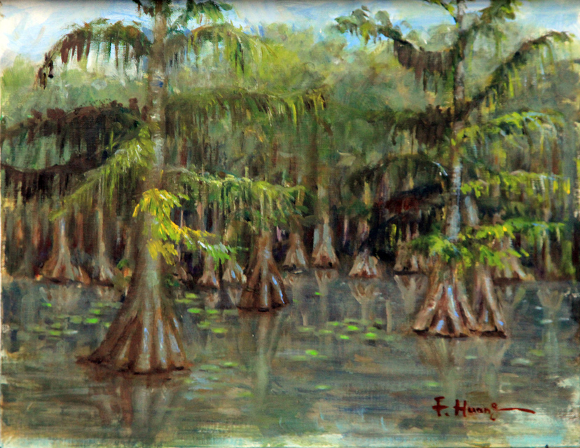 Cypress Pond (oil)