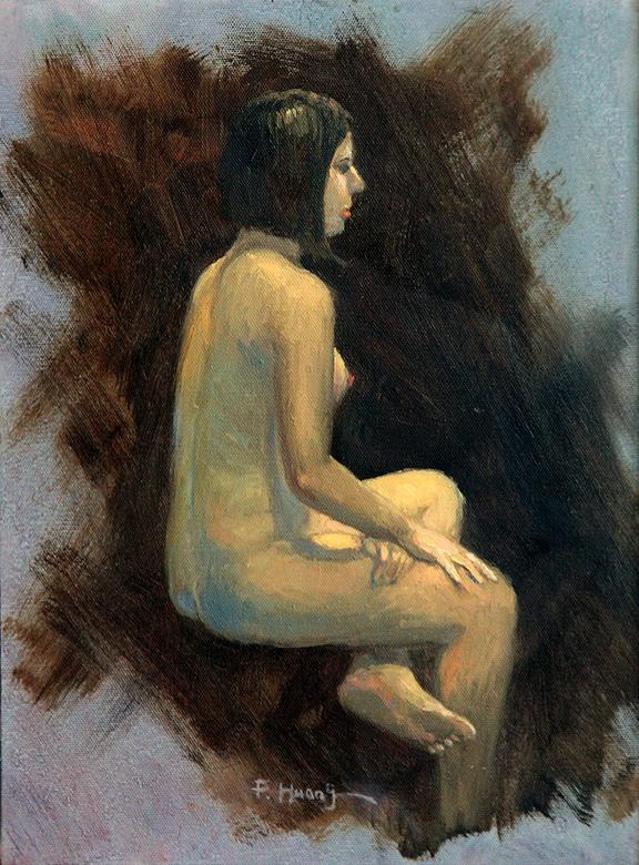 Female Nude 13 (oil)