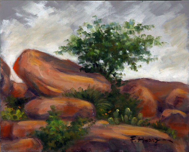 Granite Rocks 01 (oil)
