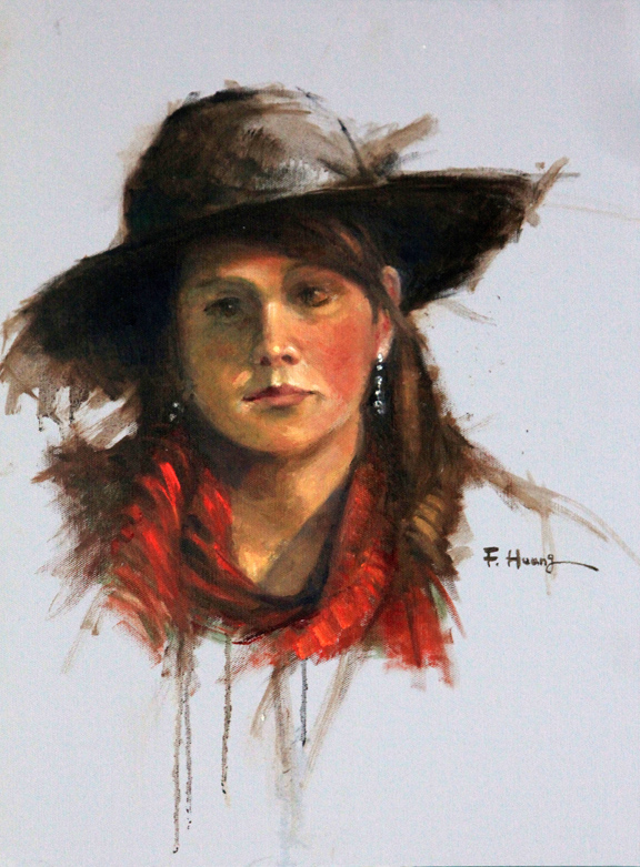 Cowgirl (oil)