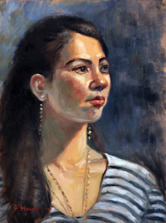 Melanie 01 (oil)