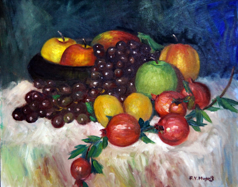 Still Life with Fruits 02 (oil)