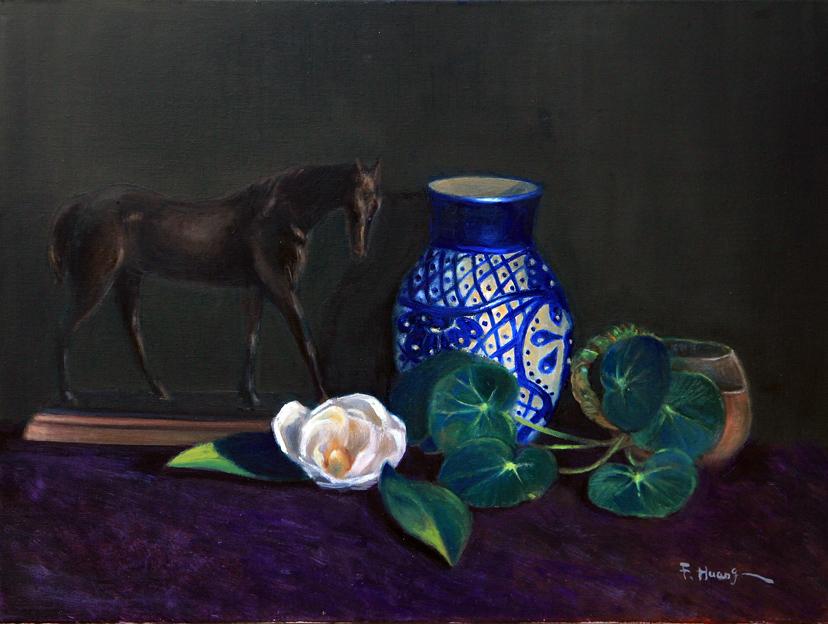 The Magnolia (oil)