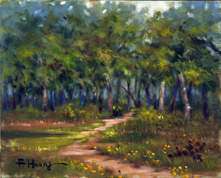 Hiking Trail (oil)